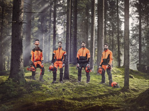 Husqvarna protective wear: Materials handpicked for protection and flexibility